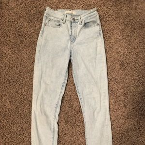 721 high rise Levi jeans